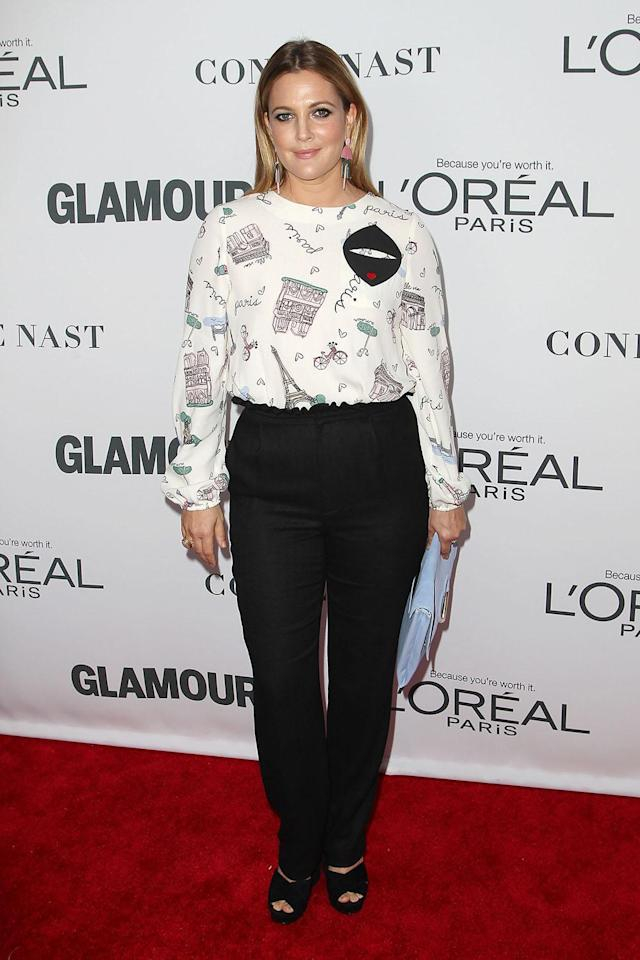 <p><strong>Yahoo Lifestyle:</strong> What are your biggest takeaways from the Glamour Women of the Year Summit and Awards?<br><strong>DB:</strong> I think this is an extraordinary time for women. We have to encourage all of this strength. Defiance is a tricky word, but there's a way women can be pioneers that seems a lot more in keeping with strength rather than anger. The hope is that women are taking care of themselves and taking care of each other inadvertently. For every woman who is brave, she's protecting another woman.<br>(Photo: Kristina Bumphrey/StarPix/REX/Shutterstock) </p>