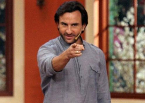 Saif denies to apologize to media for coming late by 3 hours