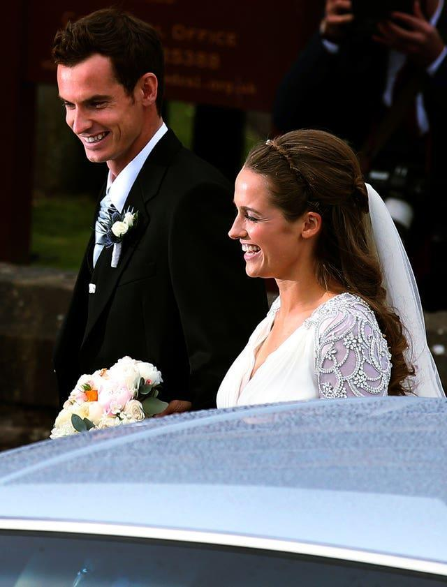 Andy Murray and Kim Sears Marry – Dunblane