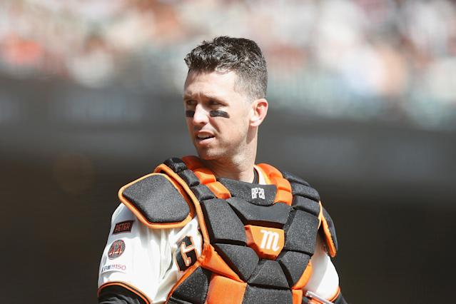 Will Buster Posey return to former glory in 2020? (Photo by Lachlan Cunningham/Getty Images)