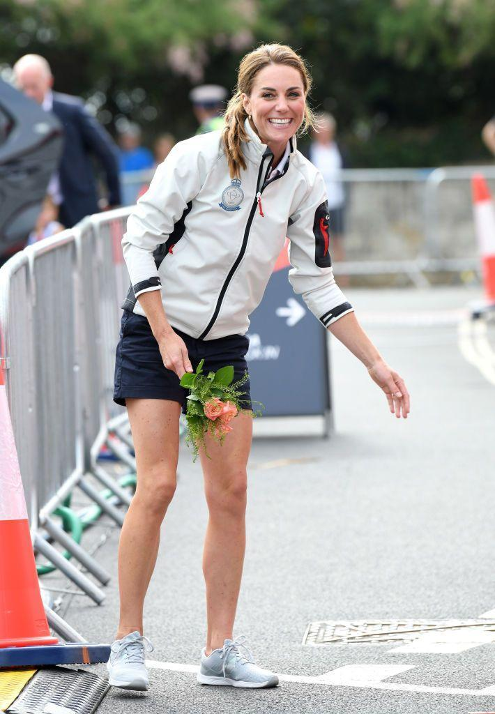 """<p>In early August, Kate Middleton<a href=""""https://www.marieclaire.com/celebrity/g28666547/royals-bare-their-legs/"""" rel=""""nofollow noopener"""" target=""""_blank"""" data-ylk=""""slk:wore shorts publicly for the first time"""" class=""""link rapid-noclick-resp""""> wore shorts publicly for the first time</a> in nearly a decade and people lost their minds—in a good way. Though it's not necessarily a controversy, it did rally a lot of public opinions about the Duchess' outfit, which is frequently criticized because, well, she's the future queen. </p>"""