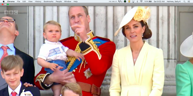 Prince George Looks all Grown Up at Trooping the Colour 2019