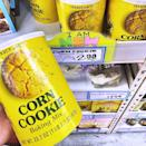 """<p>You've had corn bread, but what about corn <em>cookies</em>? Trader Joe's has added containers of <a href=""""https://www.instagram.com/p/CBQsyGpJWgl/"""" rel=""""nofollow noopener"""" target=""""_blank"""" data-ylk=""""slk:Corn Cookie Baking Mix"""" class=""""link rapid-noclick-resp"""">Corn Cookie Baking Mix</a> to its shelves, so it looks like we'll be baking tonight. Each 23.7-ounce container makes 24 cookies and costs $2.99.</p><p>A corn cookie is sweet, almost like a sugar cookie, and has a subtle corn flavor. So while it won't be like biting into corn on the cob, you should get that light flavor to warm your taste buds.</p>"""