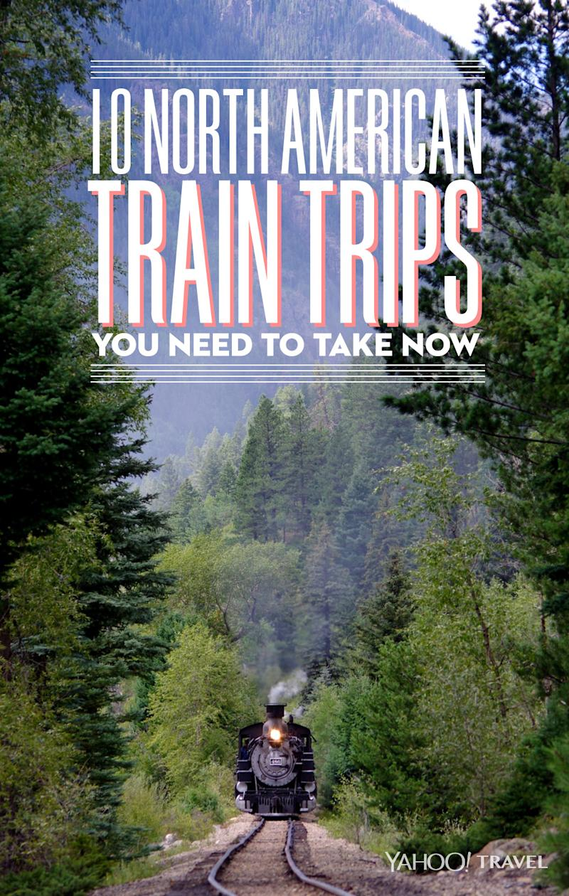 Amtrak Mooning Pictures 10 north american train trips you need to take now