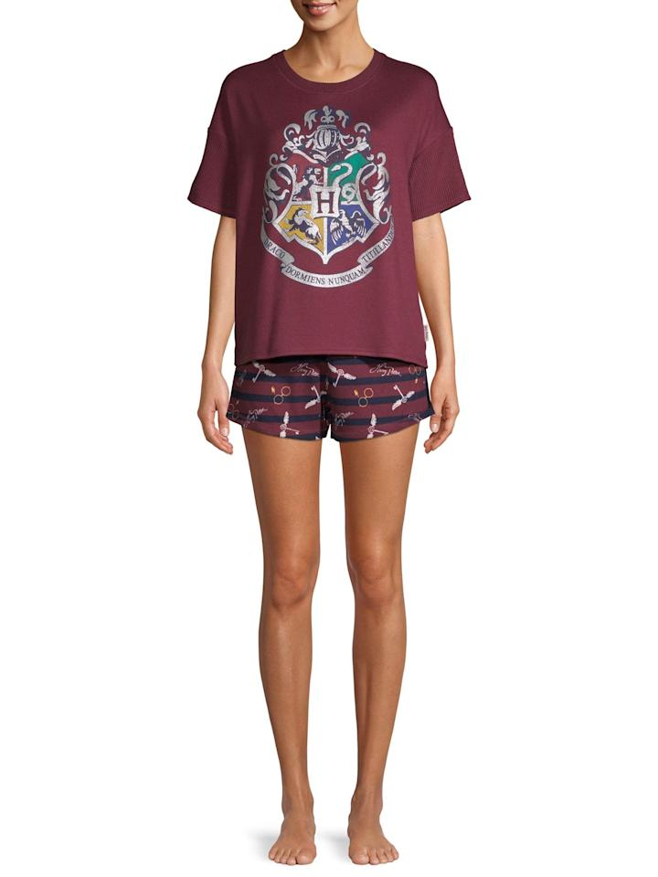 "<p>If they're obsessed with Harry Potter, they'll never want to take these <a href=""https://www.popsugar.com/buy/Harry-Potter-TopBoxer-Set-Pajamas-495003?p_name=Harry%20Potter%20Top%2FBoxer%20Set%20Pajamas&retailer=walmart.com&pid=495003&price=19&evar1=tres%3Aus&evar9=46684704&evar98=https%3A%2F%2Fwww.popsugar.com%2Fphoto-gallery%2F46684704%2Fimage%2F46684716%2FHarry-Potter-TopBoxer-Set-Pajama&list1=shopping%2Cgifts%2Cgift%20guide%2Cwalmart%2Cgifts%20for%20her%2Cgifts%20for%20women&prop13=api&pdata=1"" rel=""nofollow"" data-shoppable-link=""1"" target=""_blank"" class=""ga-track"" data-ga-category=""Related"" data-ga-label=""https://www.walmart.com/ip/Harry-Potter-Women-s-and-Women-s-Plus-SS-Top-Boxer-Set-Pajama/825035916"" data-ga-action=""In-Line Links"">Harry Potter Top/Boxer Set Pajamas</a> ($19) off.</p>"