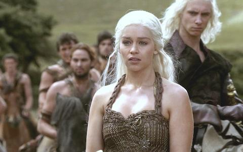Daenerys and brother Viserys in season one - Credit: HBO