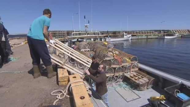 The lobster fishery is scheduled to open again in P.E.I. on May 1. Fishermen use specialized marked gear now so any lost ropes can be traced back.