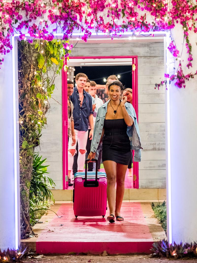 Love Island Australia's Phoebe Thompson was '100 per cent ready' to leave the villa. Photo: Channel Nine.