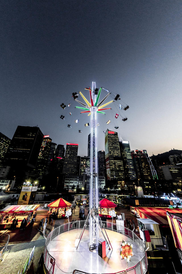 <p>Star Flyer – a 35m-high tower ride that spins while going up and down (Photo: Prudential Marina Bay Carnival) </p>