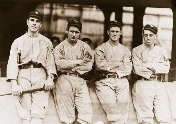 """<p><strong>October 16, 1912</strong>: In the eighth game of the World Series, the New York Giants have a 3-2 lead going into the 10th inning. Boston's Clyde Engle lofts an easy fly ball in the direction of Giants outfielder Fred Snodgrass, who proceeds to drop it. On the very next play, Snodgrass redeems himself, outrunning a harder hit ball by Harry Hooper and making an unbelievable catch. But Engle scores the tying run and the Sox end up winning the Series. """"The catch is completely obliterated by the muff, which illustrates the sad truth in baseball and life that the bad sometimes outweighs the good,"""" says Thorn.<br> </p>"""
