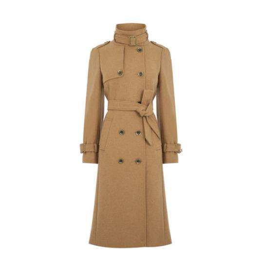 """<p><b><a href=""""http://rstyle.me/n/bccui6jduw"""" rel=""""nofollow noopener"""" target=""""_blank"""" data-ylk=""""slk:Military Trench Coat"""" class=""""link rapid-noclick-resp"""">Military Trench Coat</a>,</b> Oasis $225</p>"""