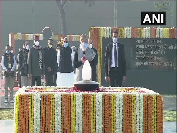 Prime Minister Narendra Modi on Friday paid floral tribute to former PM Atal Bihari Vajpayee on his 96th birth anniversary.