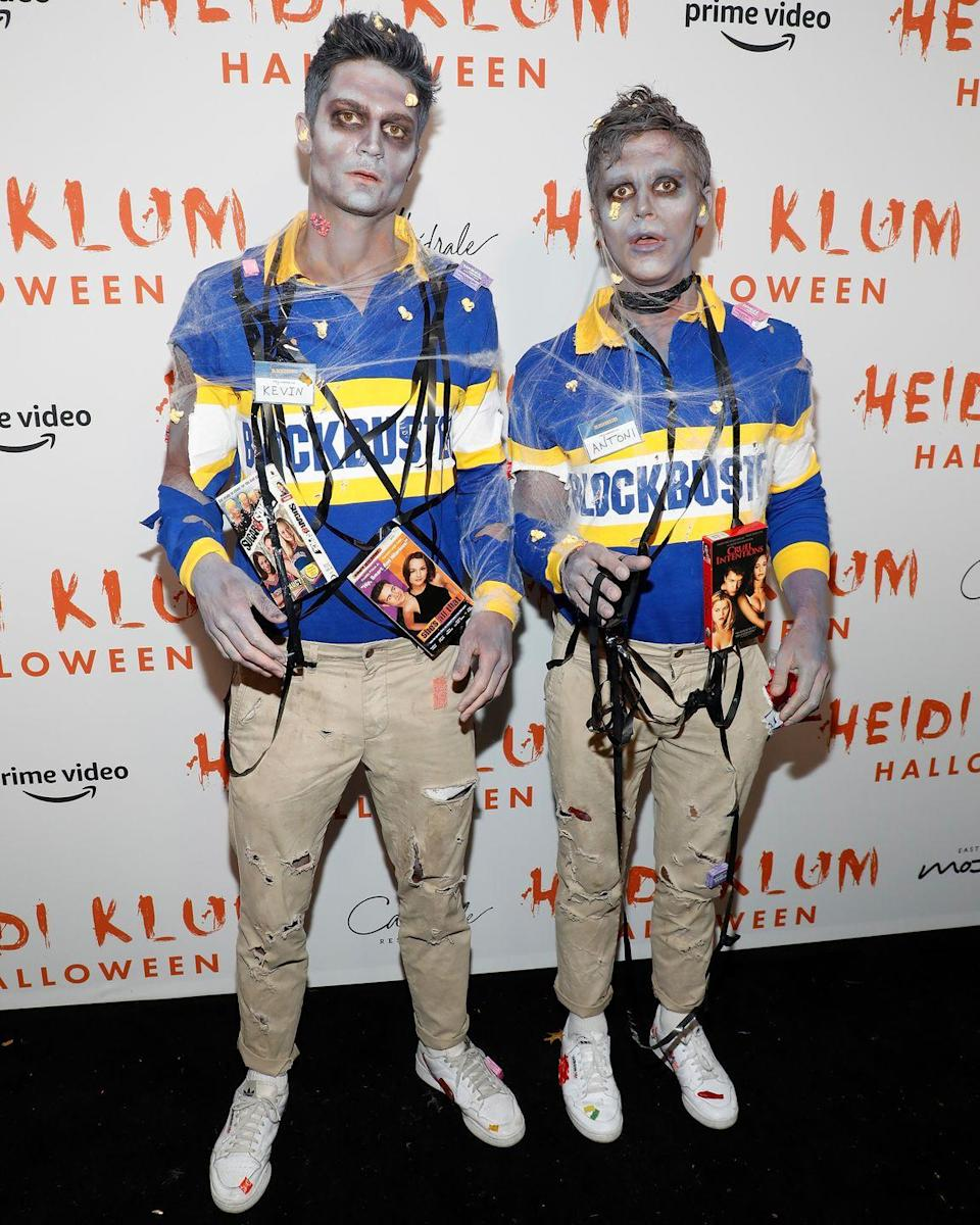 <p>If you're not already an Antoni stan, this one will get you on track ASAP. He and his BF Kevin Harrington dressed as now-non-existent Blockbuster employees (RIP) in 2019. </p>