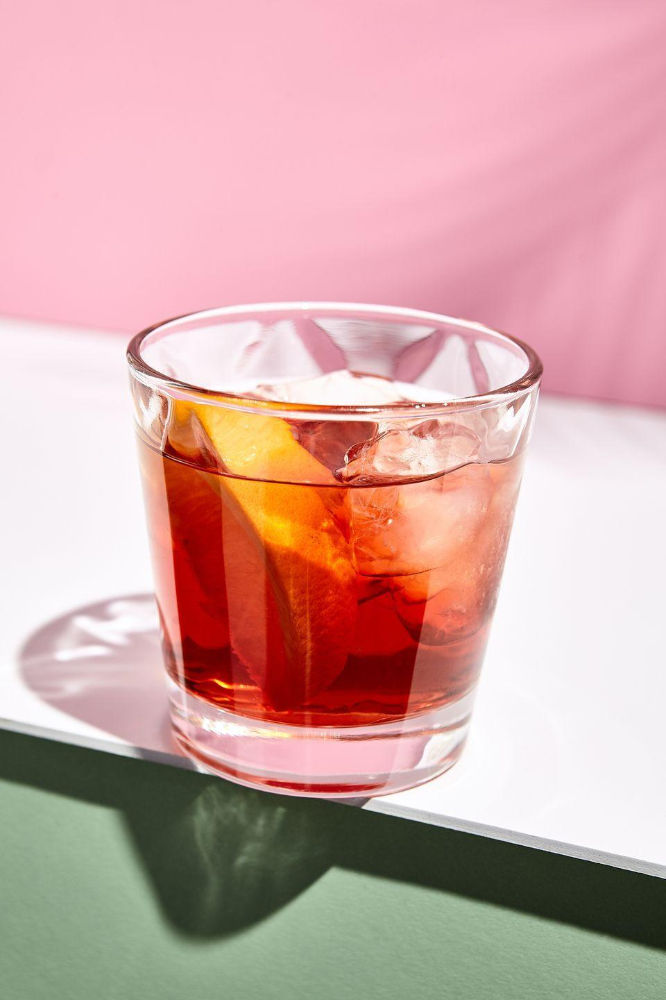 "<p>A sophisticated aperitif, the <a href=""https://www.delish.com/uk/cocktails-drinks/a28843819/negroni-recipe/"" rel=""nofollow noopener"" target=""_blank"" data-ylk=""slk:Negroni"" class=""link rapid-noclick-resp"">Negroni</a> is a classic Italian drink. Dating back to the early 1900's the drink was thought of as being a balance of both the good (bitters) and bad (gin) things in life. Some may say Negroni drinkers live life on the edge a little. If that's you, it means you're a practical thinker and a good listener, yet creative in your decisions.</p>"