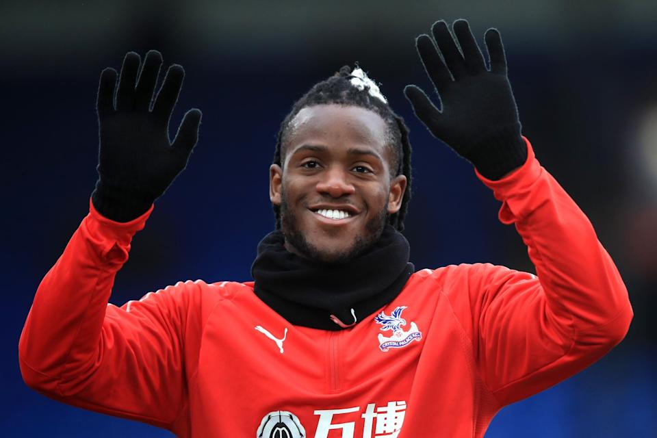 Debut delight: Michy Batshuayi took just five minutes to make an impact from the bench. (Getty Images)
