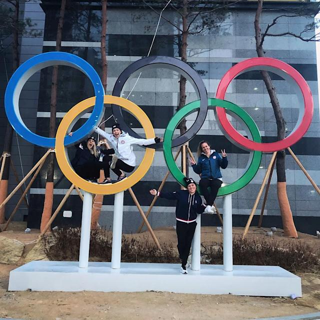 <p>amandakessel28: Day 16: go crAzyyyyy<br> #pyeongchang2018 #teamusa #offday (Photo via Instagram/amandakessel28) </p>
