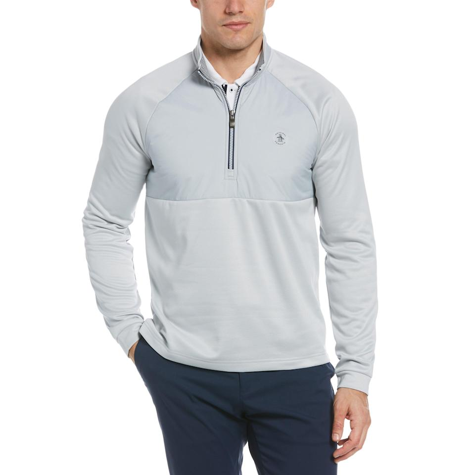 "<p><strong>Mixed Media Quarter Zip Golf Pullover</strong></p><p>originalpenguin.com</p><p><strong>$99.00</strong></p><p><a href=""https://go.redirectingat.com?id=74968X1596630&url=https%3A%2F%2Fwww.originalpenguin.com%2Fcollections%2Fgolf%2Fproducts%2Fmixed-media-quarter-zip-golf-pullover-gray-ogksb053su-059&sref=https%3A%2F%2Fwww.esquire.com%2Fstyle%2Fmens-fashion%2Fg36197949%2Fbest-golf-clothing-brands%2F"" rel=""nofollow noopener"" target=""_blank"" data-ylk=""slk:Shop Now"" class=""link rapid-noclick-resp"">Shop Now</a></p><p>The King, Arnold Palmer, used to rock OP back in the day. And some of today's best players, like Cameron Smith, do, too. Grab this quarter-zip for chillier days on the links. </p>"
