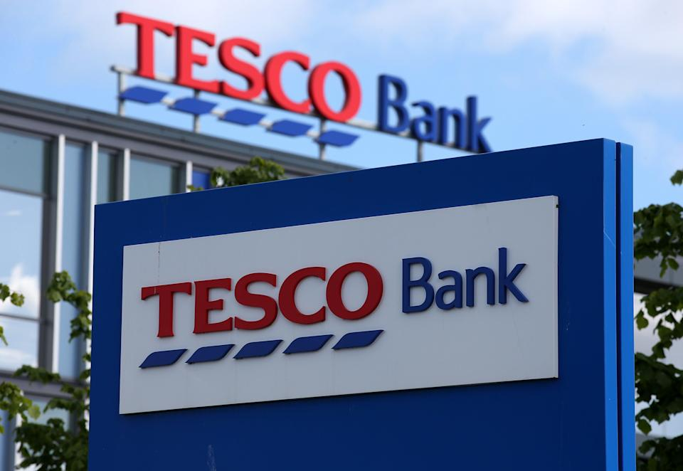 Tesco Bank current accounts were launched in 2014 (Tim Goode/PA) (PA Archive)