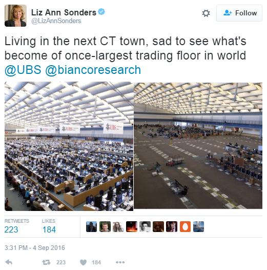 The Largest Trading Floor In The World: Then And Now