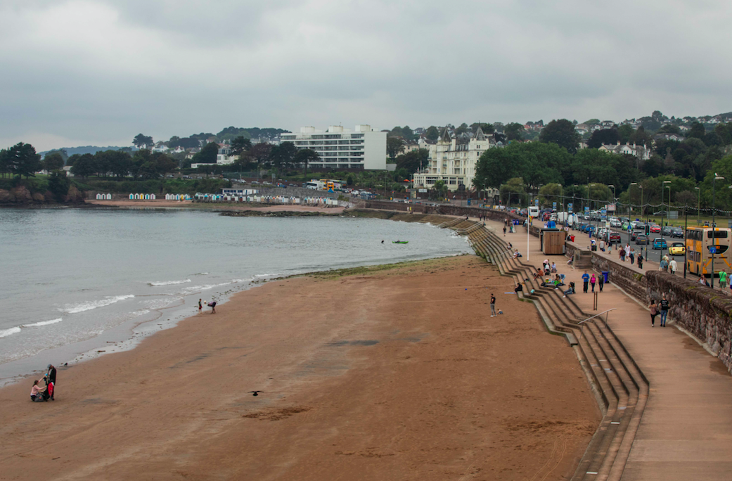Torquay in Devon is commonly known as the English Riviera. (SWNS)