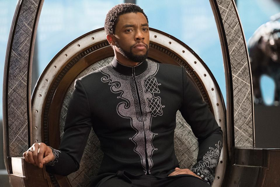 Chadwick Boseman as Black Panther (Marvel)