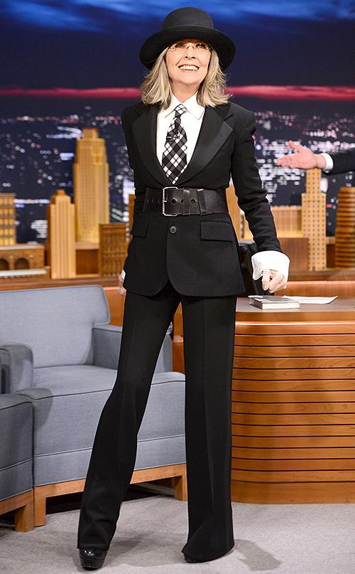 Diane Keaton is being honored with the AFI Life Achievement Award. (Photo: Theo Wargo/NBC/Getty Images for <em>The Tonight Show Starring Jimmy Fallon</em>)
