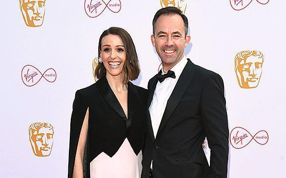 Suranne with her husband, screenwriter Laurence Akers, at the Baftas in 2019 - Getty/Getty