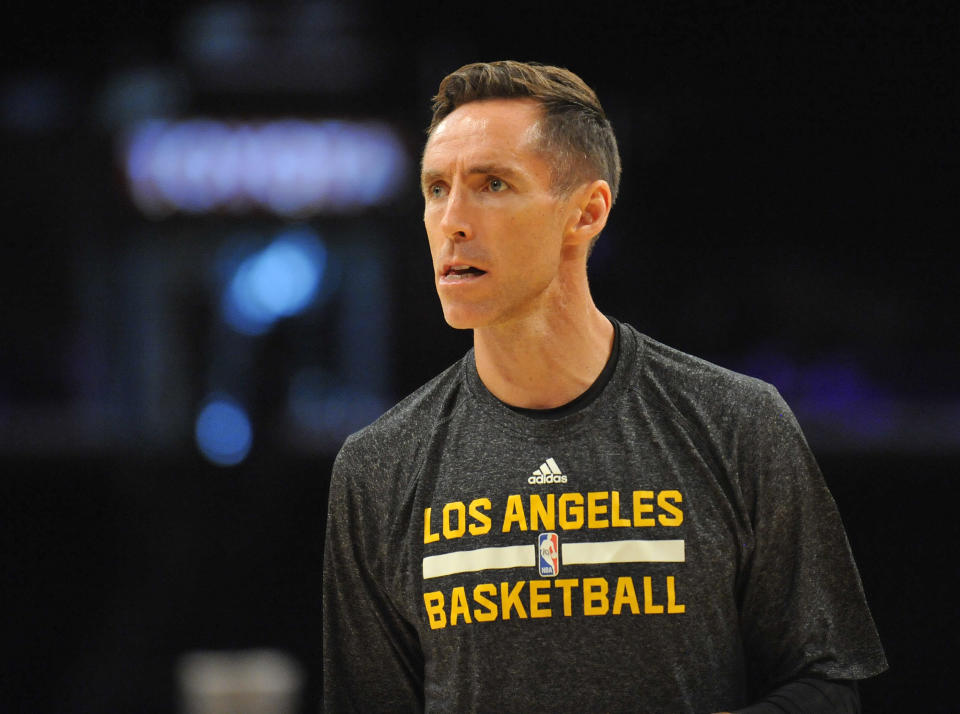 Steve Nash has reportedly been ruled out for the 2014-15 season. (Gary A. Vasquez/USA TODAY Sports)