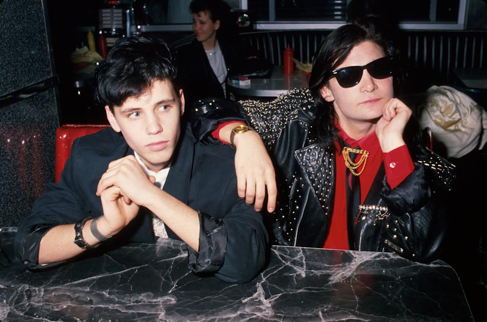 """Corey Haim and Corey Feldman were known as """"The Two Coreys"""" during their '80s heyday. (Photo: Time Life Pictures/DMI/The LIFE Picture Collection via Getty Images)"""