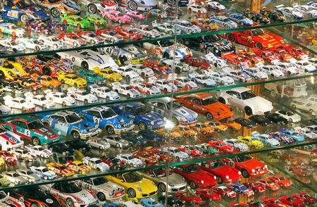 Picture shows part of Nabil Karam's largest collection of model cars inside his museum in Zouk Mosbeh, north of Beirut, Lebanon November 16, 2016. REUTERS/Aziz Taher