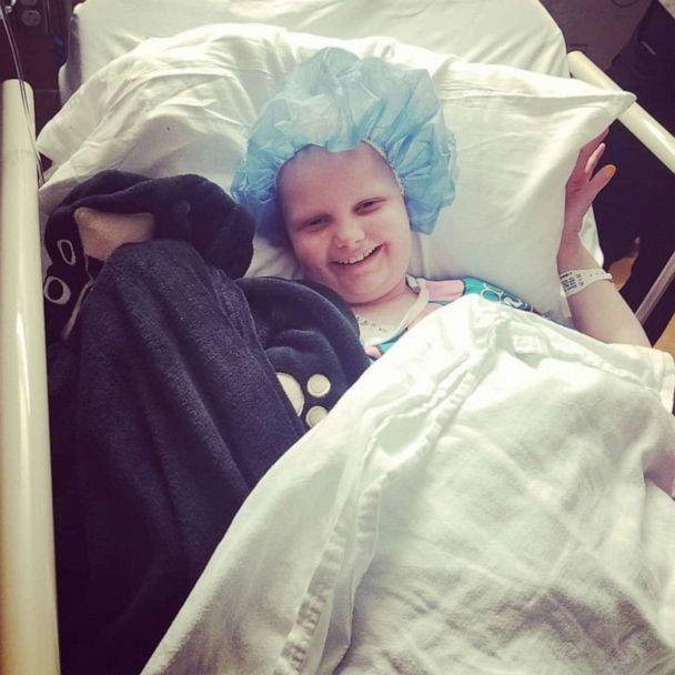 PHOTO: Hallie Beatrice Barnard, 11, beat a rare bone marrow disorder and is now fighting bone cancer. (Hallie's Heroes/Facebook)