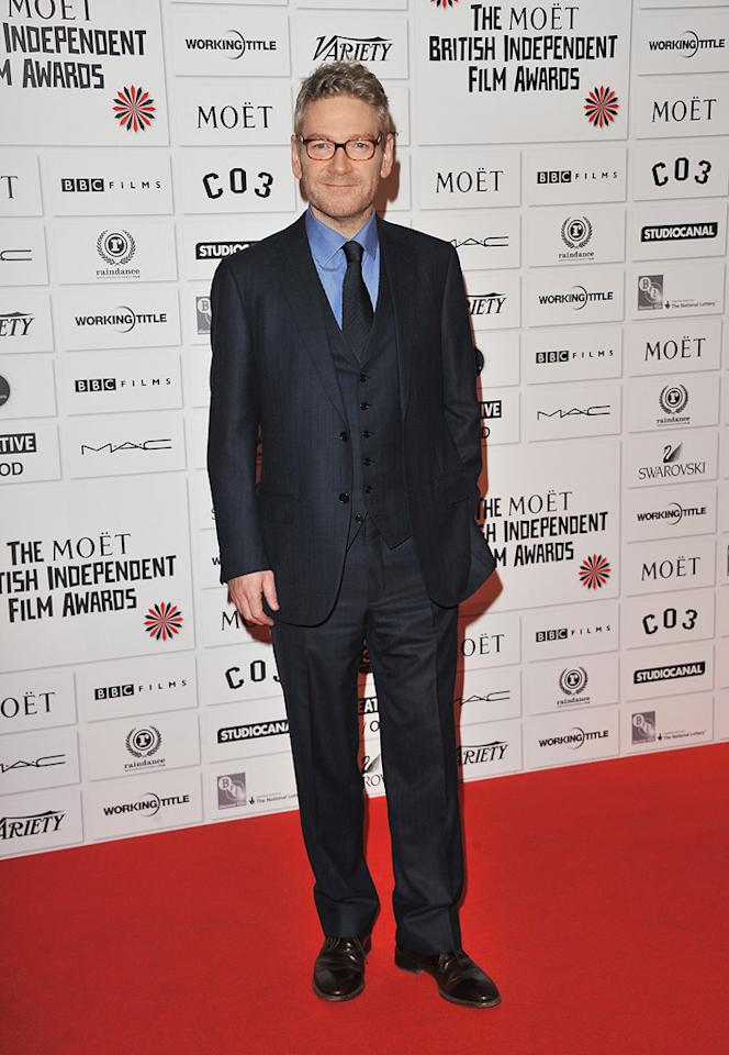 "<a href=""http://movies.yahoo.com/movie/contributor/1800019957"">Kenneth Branagh</a> at the 2011 British Independent Film Awards on December 4, 2011 in London, England."