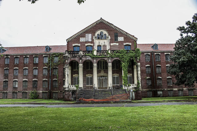 <p>Another exterior view of Western State Mental Hospital. (Caters News) </p>