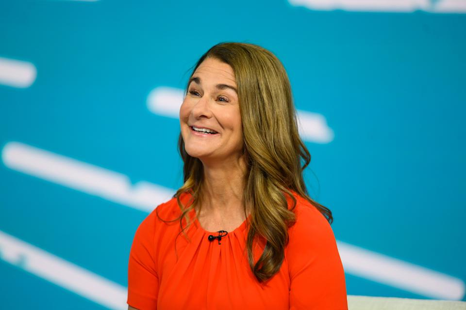 TODAY -- Pictured: Melinda Gates on Monday, July 15, 2019 -- (Photo by: Nathan Congleton/NBCU Photo Bank/NBCUniversal via Getty Images via Getty Images)
