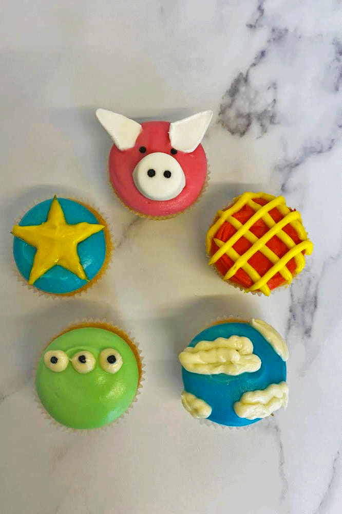 """<p>Whether you're an adult, or a child, these toy story <a href=""""https://www.delish.com/uk/cooking/recipes/g31988998/easter-cupcakes/"""" rel=""""nofollow noopener"""" target=""""_blank"""" data-ylk=""""slk:cupcakes"""" class=""""link rapid-noclick-resp"""">cupcakes</a> are absolutely ADORABLE, and the perfect cake for a <a href=""""https://www.delish.com/uk/food-news/g28896656/gifts-for-foodies/"""" rel=""""nofollow noopener"""" target=""""_blank"""" data-ylk=""""slk:birthday"""" class=""""link rapid-noclick-resp"""">birthday </a>party.</p><p>Get the <a href=""""https://www.delish.com/uk/cooking/recipes/a33453379/toy-story-cupcakes/"""" rel=""""nofollow noopener"""" target=""""_blank"""" data-ylk=""""slk:Toy Story Cupcakes"""" class=""""link rapid-noclick-resp"""">Toy Story Cupcakes</a> recipe.</p>"""