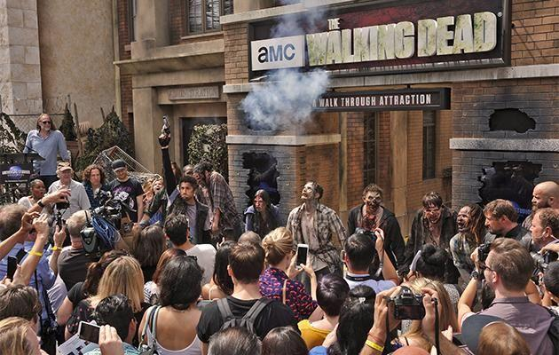 The Walking Dead attraction.