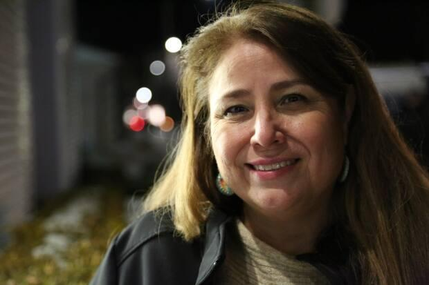 Mary Duckworth was elected chief of the Caldwell First Nation on Jan. 20, 2018, and is now challenging her removal. (Dan Taekema/CBC - image credit)