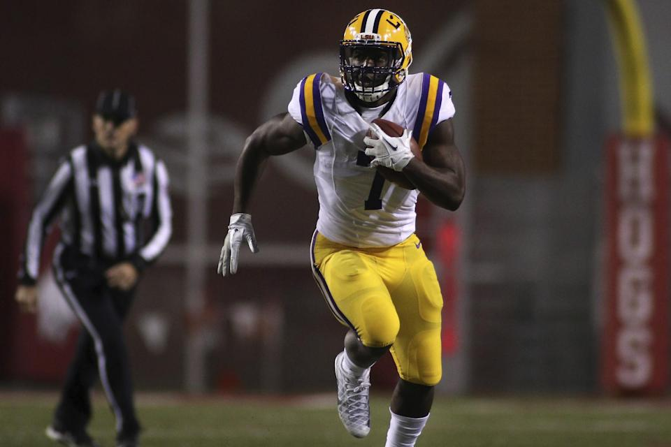 LSU's Leonard Fournette is our top-ranked back in the 2017 NFL draft. (AP)