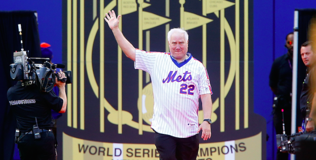 Former Mets World Series MVP Ray Knight was charged with assault and battery. (Getty Images)