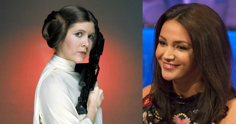 Michelle Keegan will don Princess Leia's signature hair buns for the hilarious spoof (Copyright: Lucasfilm/20th Century Fox/REX/Shutterstock)