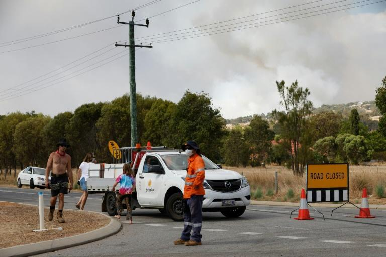 Hundreds of people have fled the area in recent days and emergency warnings remain in place