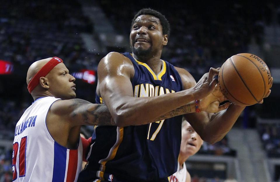 Four years after knee injuries and questions about his maturity forced Andrew Bynum out of the league, the 30-year-old center is seeking an NBA comeback. (AP)