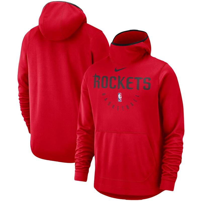 Rockets Nike Performance Pullover Hoodie