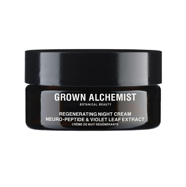 """<p><strong>Grown Alchemist</strong></p><p>credobeauty.com</p><p><strong>$125.00</strong></p><p><a href=""""https://go.redirectingat.com?id=74968X1596630&url=https%3A%2F%2Fcredobeauty.com%2Fproducts%2Fregenerating-night-cream&sref=https%3A%2F%2Fwww.bestproducts.com%2Fbeauty%2Fg341%2Fcollagen-cream-for-youthful-skin%2F"""" rel=""""nofollow noopener"""" target=""""_blank"""" data-ylk=""""slk:Shop Now"""" class=""""link rapid-noclick-resp"""">Shop Now</a></p><p>FYI: Acne can pop up at any age, so if you're prone to random breakouts, let this overnight cream help soothe your irritated pores. </p><p>Not only does this overnight cream contain peptides to give your fine lines and wrinkles a tighter appearance, but it also has green tea extract, which acts as a powerful antioxidant to give your skin a clarifying boost.</p>"""