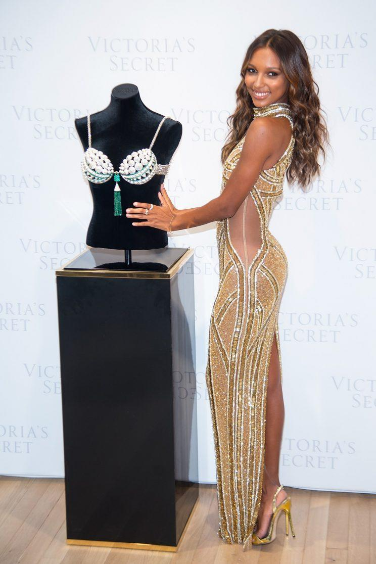 Jasmine Tookes will wear the Victoria's Secret Fantasy Bra in Paris this year. (Photo: Getty Images)