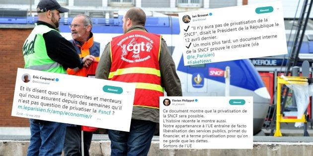 Un document interne relance l'hypothèse d'une privatisation — SNCF