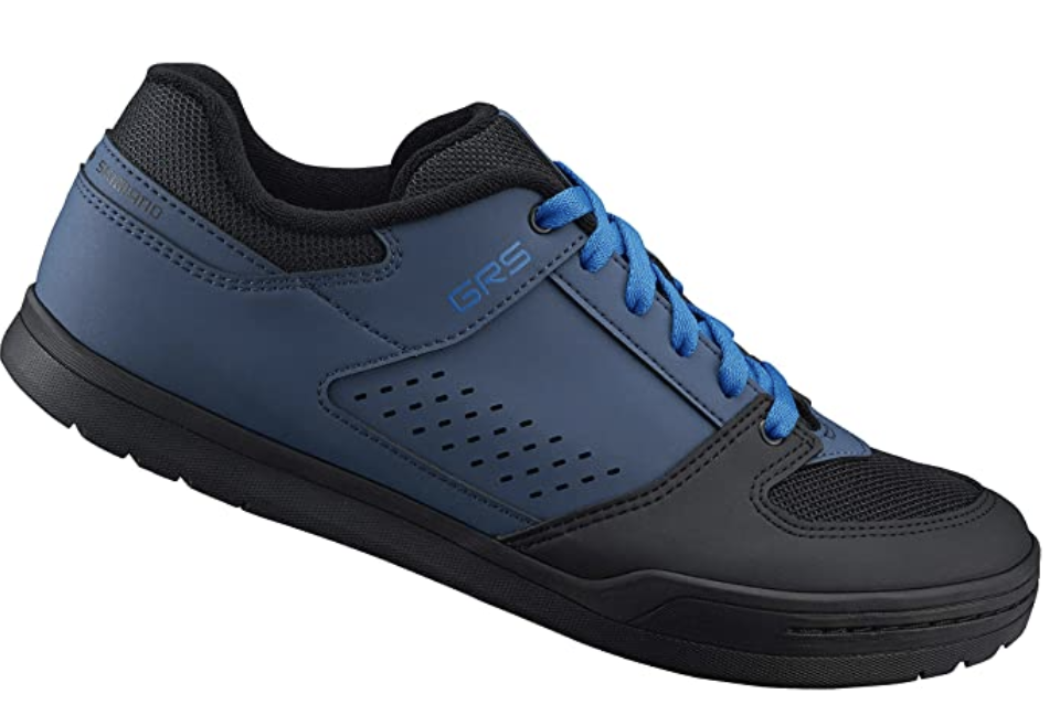 Shimano downhill cycling flat pedal men's bicycle shoes, S$121.86. PHOTO: Amazon