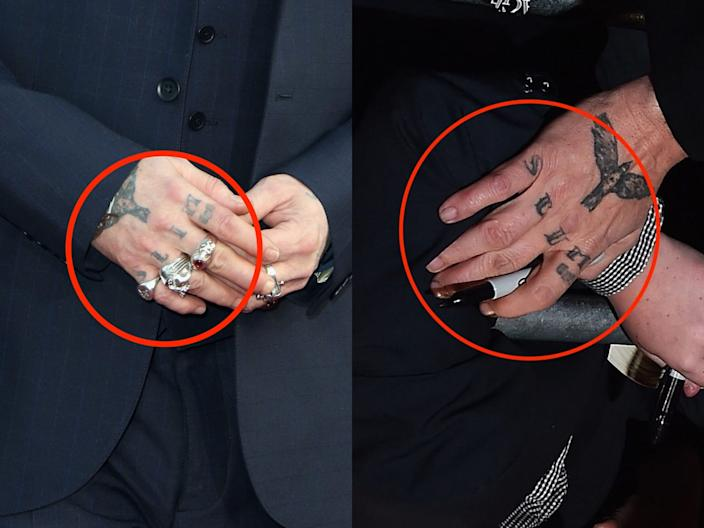 johnny depp tattoos skitch