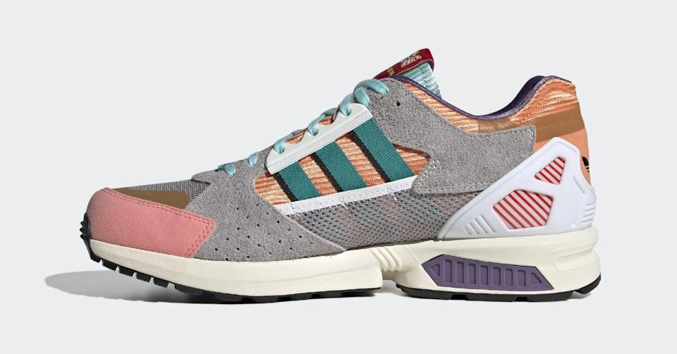 The medial side of the Adidas ZX 10/7 Candyverse. - Credit: Courtesy of Adidas
