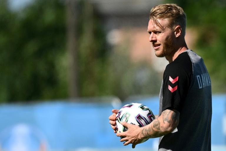 Denmark captain Simon Kjaer was praised for his quick-thinking after coming to the rescue of stricken team-mate Christian Eriksen